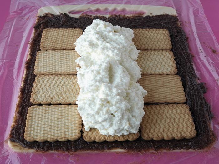 Творожный торт без выпечки домик с фото