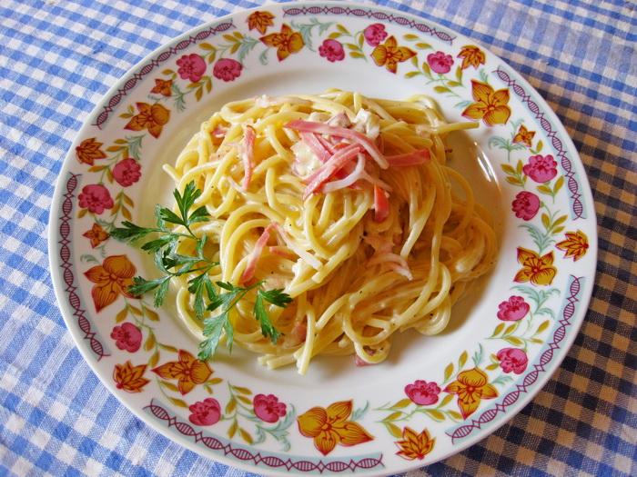 Спагетти с соусом карбонара рецепт