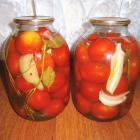 Консервированные помидоры (без стерилизации)