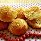Булочки с кунжутом для бутербродов