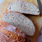 Домашний хлеб с сыром и орехами