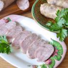 Домашняя колбаса из курицы со специями
