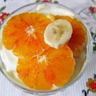 Фруктовый десерт с кремом из маскарпоне