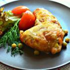 Голени, фаршированные овощами