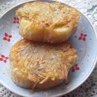 Гренки с картошкой