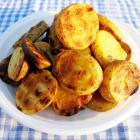 Хрустящий картофель на мангале