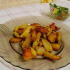 Картофель со специями, запеченный в духовке
