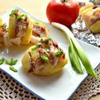 Картофель, запеченный в фольге со свининой