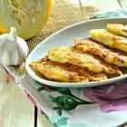 Картофельно-кабачковые оладьи с чесноком