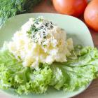 Картофельное пюре с сыром