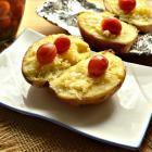 Крошка-картошка с маринованными черри
