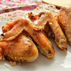 Куриные крылышки с кунжутом