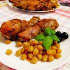 Куриные ножки со специями, запеченные в духовке