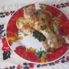 Куриные ножки в соусе из меда и горчицы