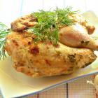 Маринованный в кефире цыпленок