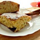 Медовый торт с корицей и черносливом