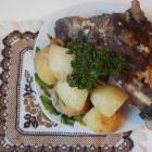 Мясо дикой козы в духовке