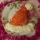 Новогодний салат Шапка Деда Мороза