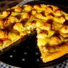 Пицца с тефтельками