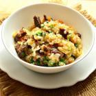 Рис с говядиной и капустой