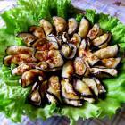 Рулетики из баклажана с сыром и орехами