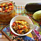 Салат из баклажанов и кабачка