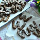 Шоколадное венское печенье