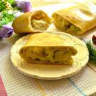 Штрудель с картофелем