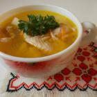 Суп куриный мультиварке