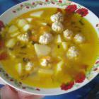 Суп с фрикадельками - быстрый и простой рецепт