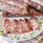 Сыровяленая колбаса из свинины и говядины