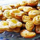Творожное печенье с лимонным кремом