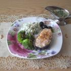 Вкусный лосось с гарниром по-норвежски