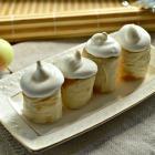Яблочные «роллы» под «Безе»