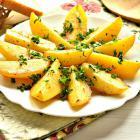 Запеченный картофель с приправами