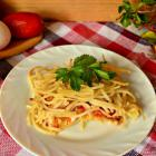 Запеканка с макаронами и овощами