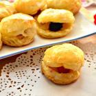 «Жемчужное» печенье с ягодной начинкой
