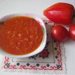 Аджика с болгарским перцем