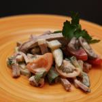салат с говяжьем языком