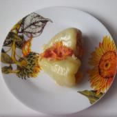 Болгарский перец, фаршированный грибами