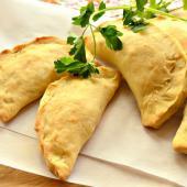 Татарские пирожки с картошкой (буккены)