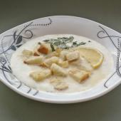 Чесночный суп Турен