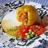 Фаршированные болгарские перцы