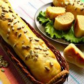 Французские багеты с семенами подсолнечника