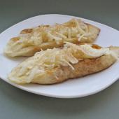 Французские яблочные тосты