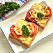 Горячие бутерброды с креветками