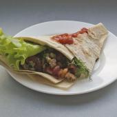 Горячий мексиканский бутерброд Такос