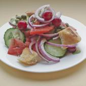 Хлебный салат Панцанелла