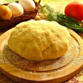 Картофельное тесто для открытых пирогов