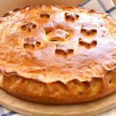 Картофельный пирог со свининой